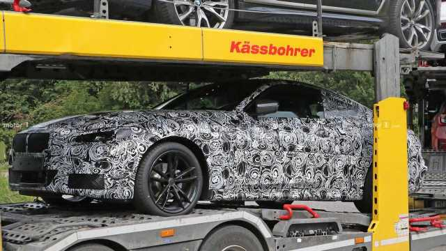 BMW 4 Series Coupe Spied For First Time