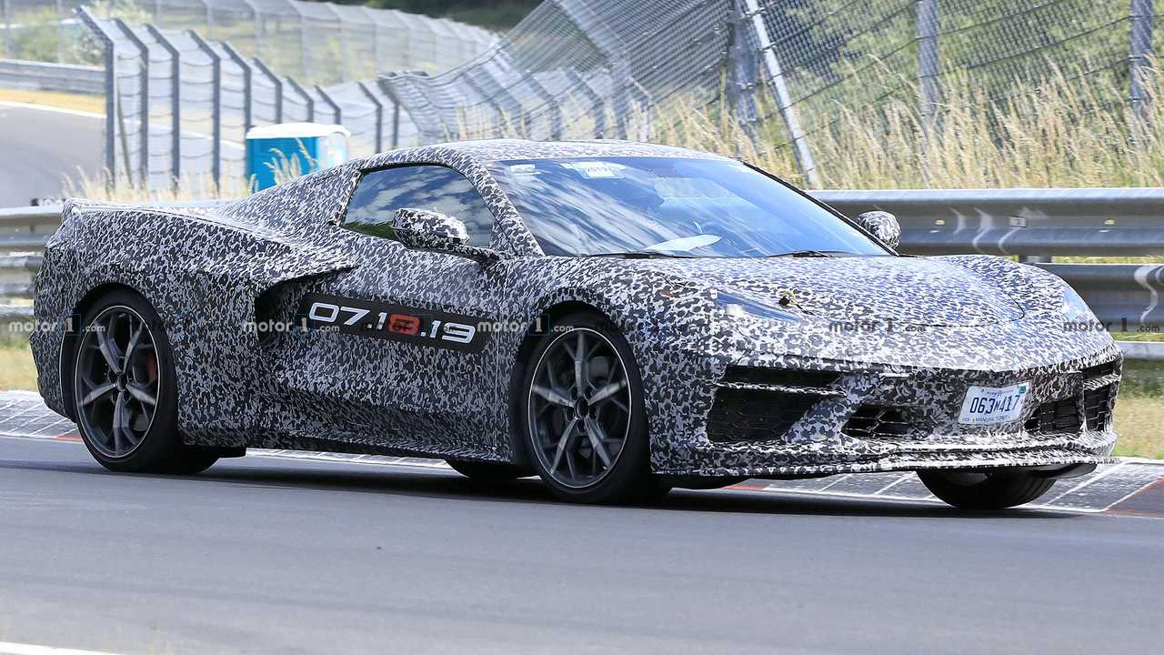 Mid-Engined Chevrolet Corvette C8 Spied Running Around The Nürburgring