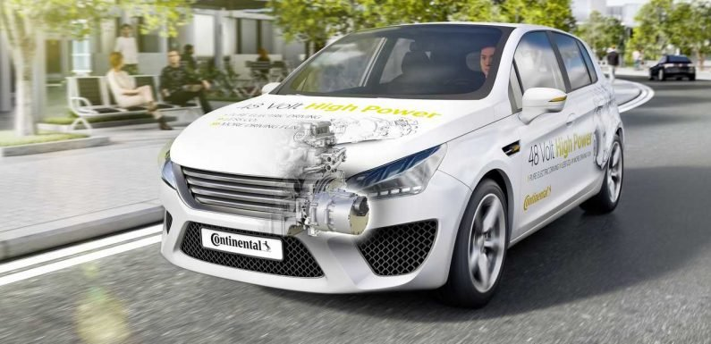 Continental Claims to Have Created A 48V Full Hybrid Solution