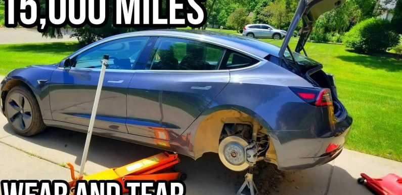 Dirty Tesla? Owner Finds 15 Pounds Of Dirt In His Model 3: Video
