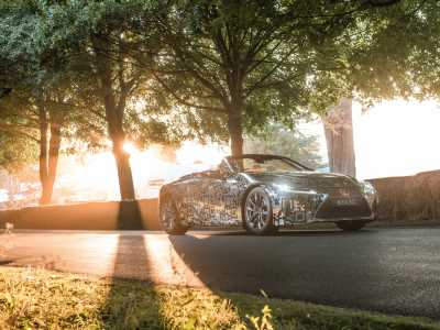 Confirmed: The Lexus LC will get a convertible version