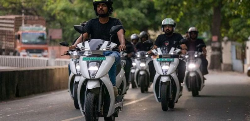 Ather Energy Commences Operations In Chennai; Prices Start At Rs. 1.19 Lakh