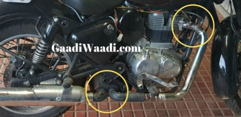 2020 Royal Enfield Classic 350 BS-VI Spotted Again