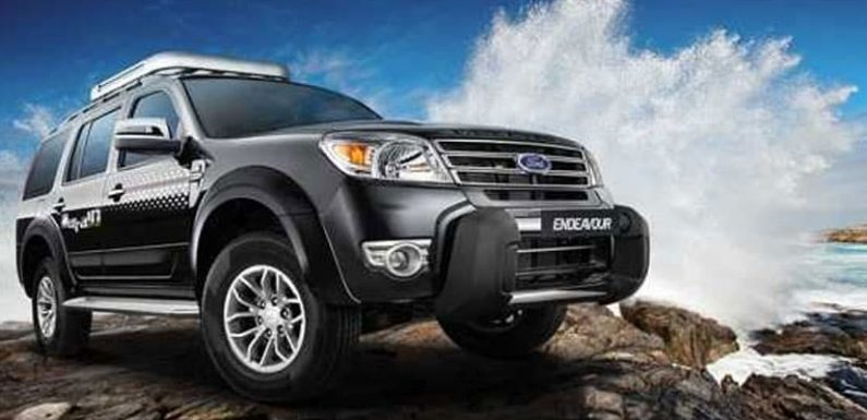 Ford Recalls 22,690 Endeavour SUVs In India For Faulty Airbag Inflators