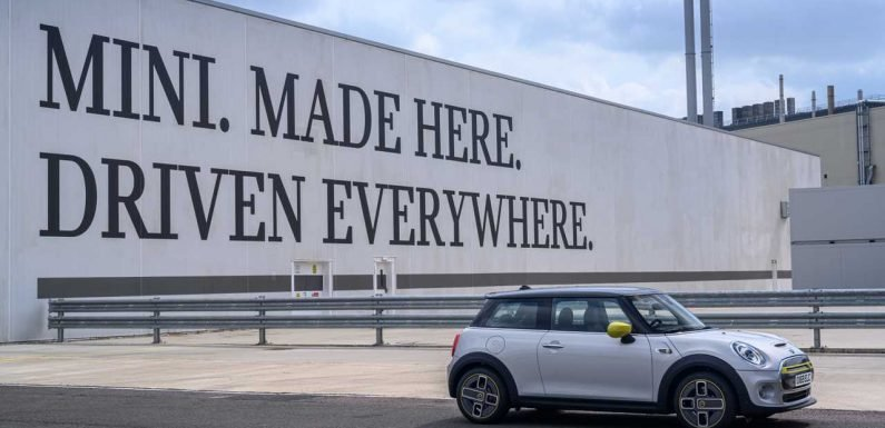 Quick Look At MINI Electric Production: Video