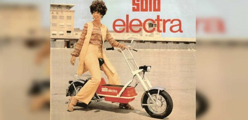 A Cutting Edge Electric Scooter From… 1973?