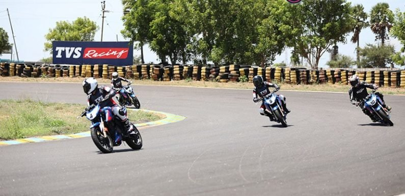 TVS Young Media Racer Program Race 1: Far From The Finish Line
