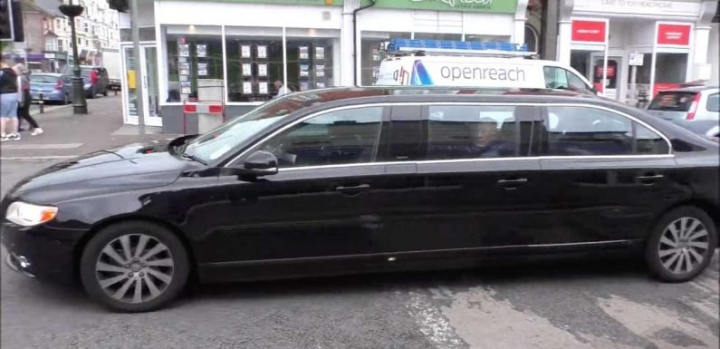 Six-Door Volvo Limousine Spotted Cruising The Streets