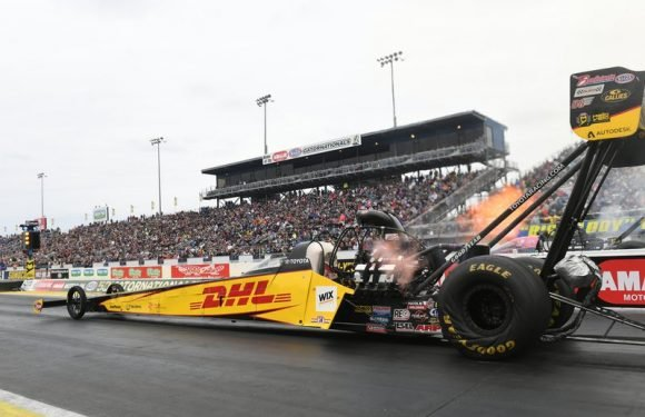 Richie Crampton looking to find a little 2014 NHRA magic in Top Fuel