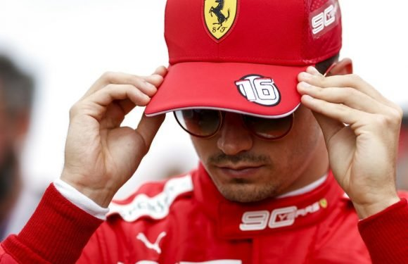 charles Leclerc unfazed by 'pressure' of being a Ferrari driver