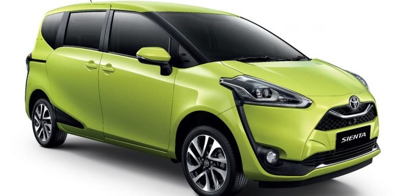 Toyota Sienta facelift launched in Thailand, fr. RM103k