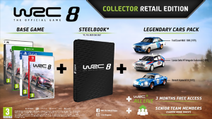 WRC 8 Pre-Order Bonuses and Special Editions Revealed