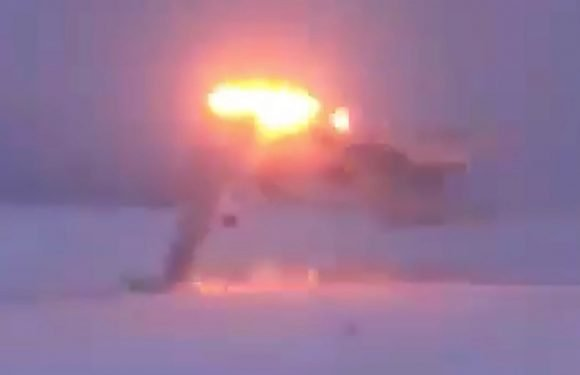 Dramatic Video Of Russian Tu-22M3 Crash Landing In Bad Weather Emerges (Updated)