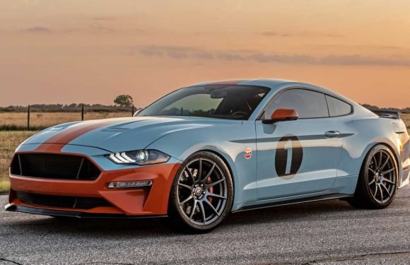 Dealer-Built Mustang Gulf Heritage Edition Packs 800 HP, Costs $140k