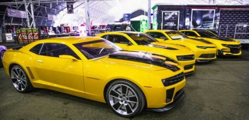 Four 'Bumblebee' Chevrolet Camaros Sell for $500,000 at Barrett-Jackson Auction