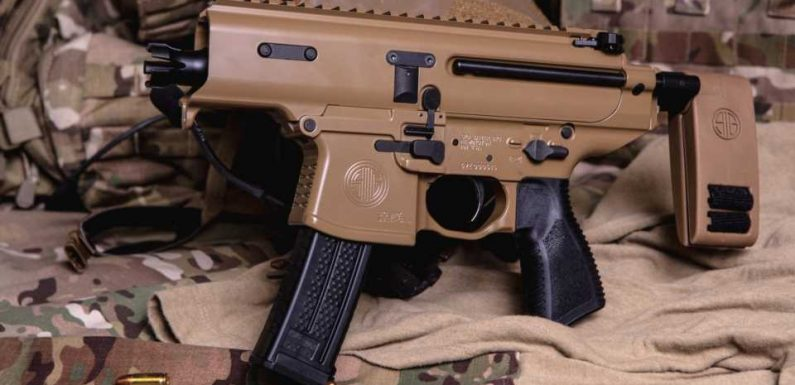 Sig Sauer's Tiny Copperhead Submachine Gun Looks Made For the U.S. Army's Requirements