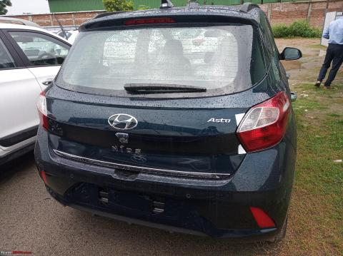 More images: Hyundai Grand i10 NIOS rear design