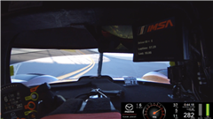 Watch This Mind-Boggling Onboard of Mazda Team Joest's Record-Breaking Daytona Pole Lap