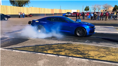 Watch and Listen to the Chevrolet eCOPO Camaro's First-Ever Drag Strip Run