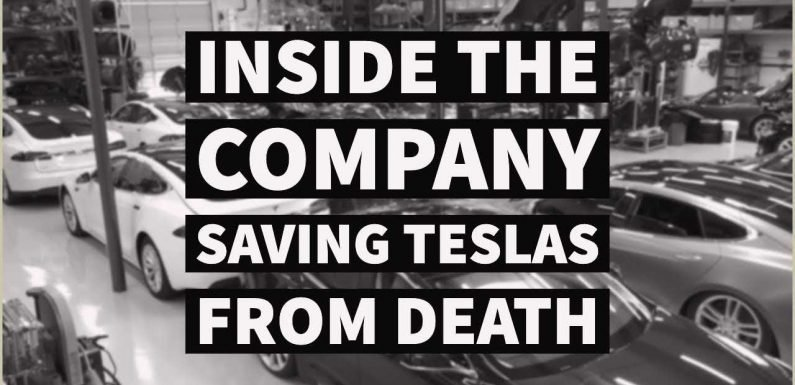 What Happens To A Tesla When It Ages? It Goes to Gruber Motors