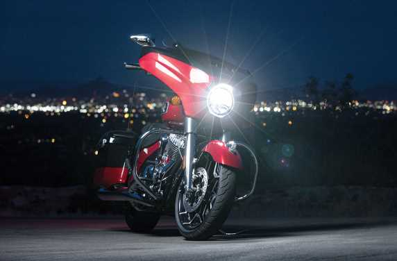 2020 Indian Motorcycle lineup with 1.9-litre V-twin