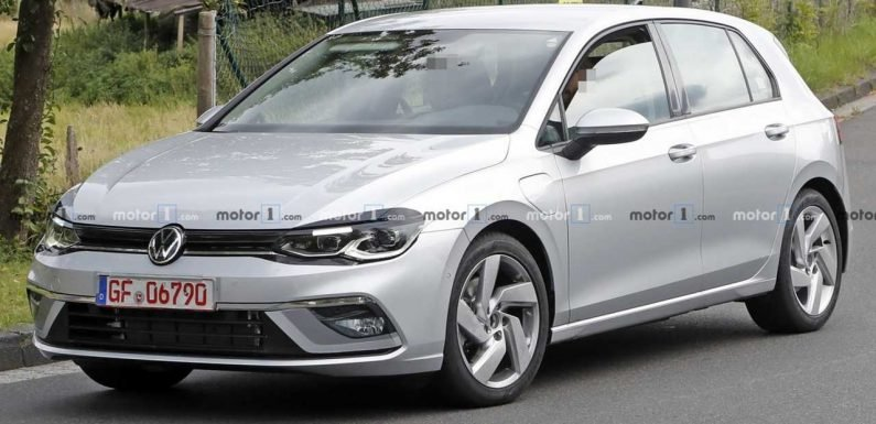 2021 VW Golf GTE Spied With 99% Of The Camo Gone