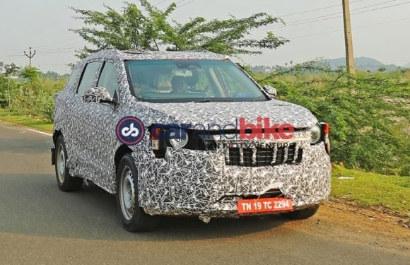 Mahindra S204 Spotted Testing In India For The First Time