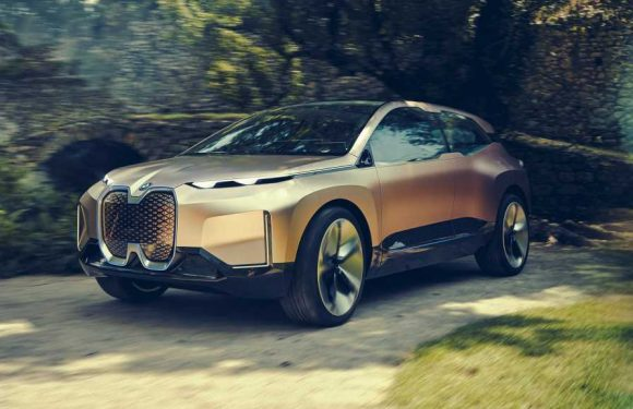 iNext Up Concept Previews Coming All-Electric BMW Crossover