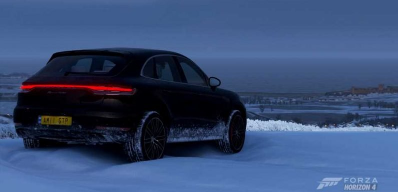 This Week's Forza Horizon 4 Season Change: Macan The Most of Winter