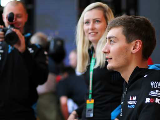 George Russell: Williams got me into a 'mess'