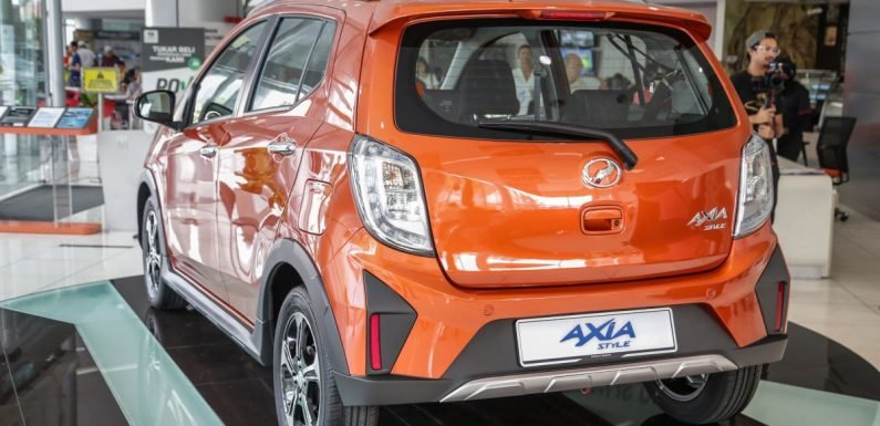 2019 Perodua Axia: 5k bookings now, targets 6k/month
