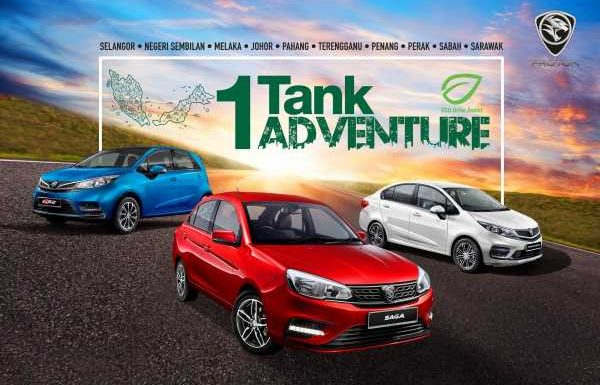 Proton 1-Tank Adventure 2019 kicks off this weekend