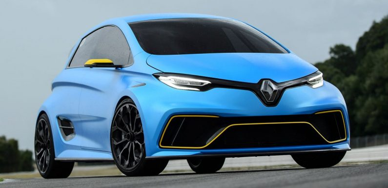 Renault Zoe e-Sport Concept: 462-hp electric hot hatch gets strong public interest, but still far from production