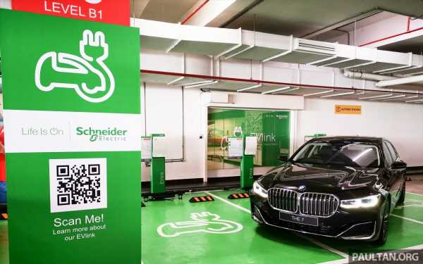 Schneider Electric Malaysia electric vehicle charging stations now at Genting Highlands Premium Outlets