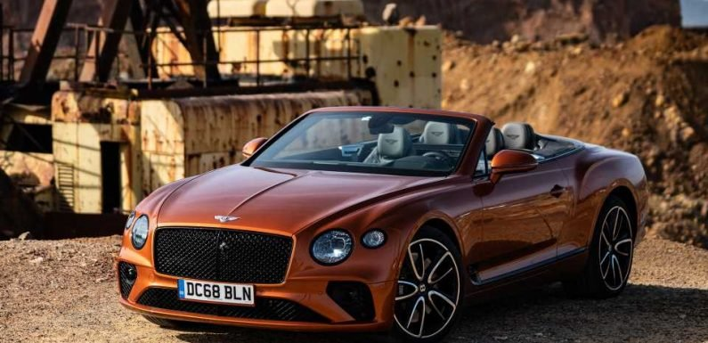 2019 Bentley Continental GT Convertible First Drive: Millionaires, Your Road-Going Chris-Craft Is Here