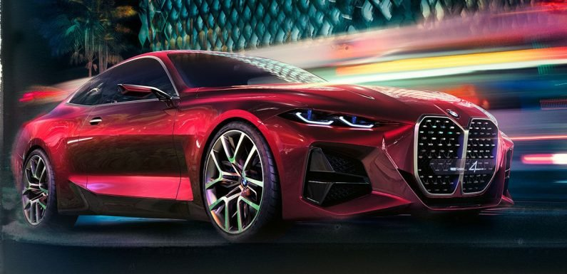 The BMW Concept 4 Is All About That Kidney Grille