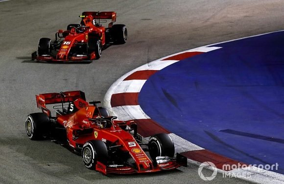 Leclerc frustrated by 'not fair' Ferrari strategy in Singapore