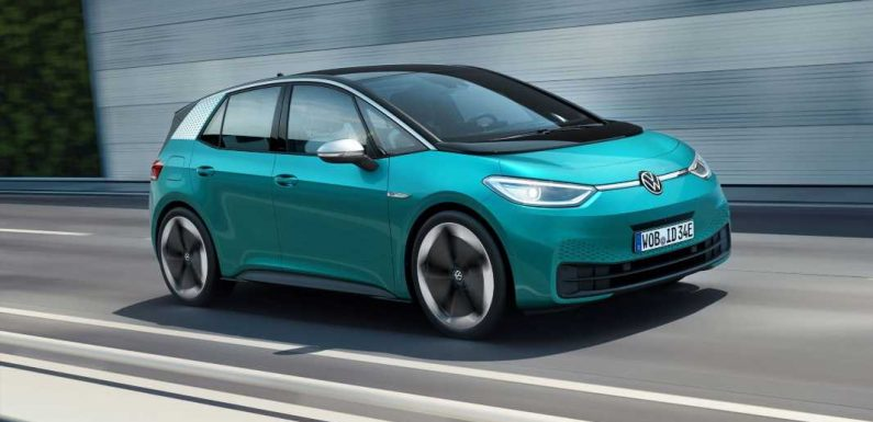 2020 Volkswagen ID.3 Electric Hatch Will Offer Up to 341 Miles of Range