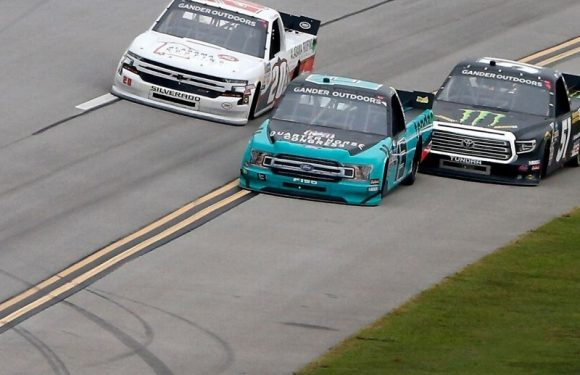 NASCAR executive details out of bounds rulings at Talladega