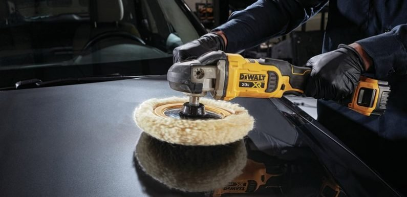 Shine it up: Dewalt is releasing two new 20V Max XR polishers