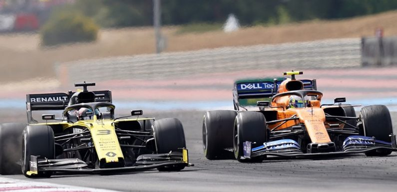 McLaren staying grounded despite sizeable P4 gap