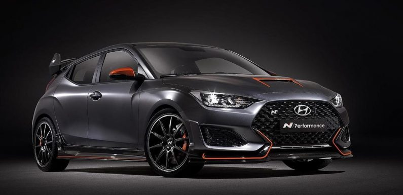 The Hyundai Veloster N Performance Concept Is A Harder, Meaner Hot Hatch