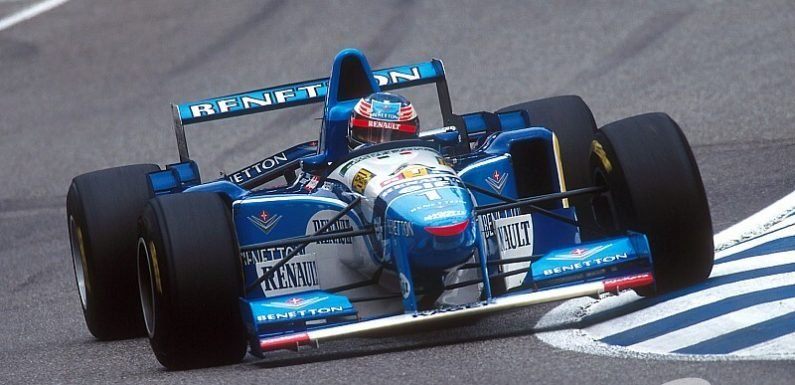 Gallery: All of Benetton's F1 race wins