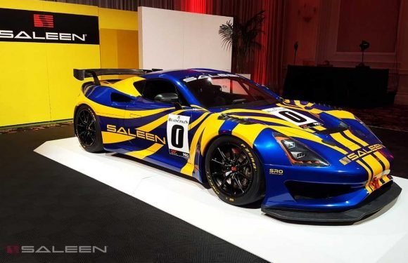 Saleen GT4 Concept Debuts As A Lightweight Mid-Engine Track Car