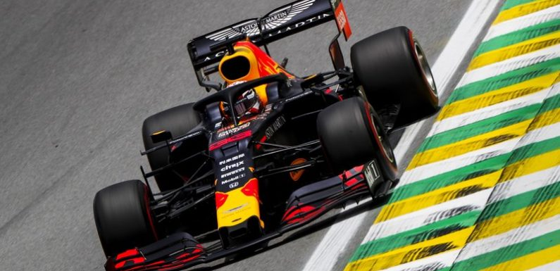 F1 Brazilian Grand Prix qualifying results: Max Verstappen wins his second career pole