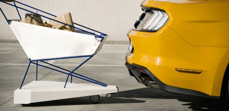 Ford Designed a Self-Braking Grocery Shopping Cart Because People Are Reckless