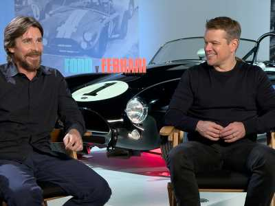 Christian Bale wants a 4-seat Shelby Cobra; Matt Damon just wants to blend in
