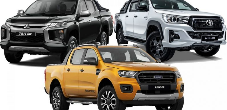 Five-year maintenance costs for Toyota Hilux, Ford Ranger, Mitsubishi Triton pick-up trucks compared