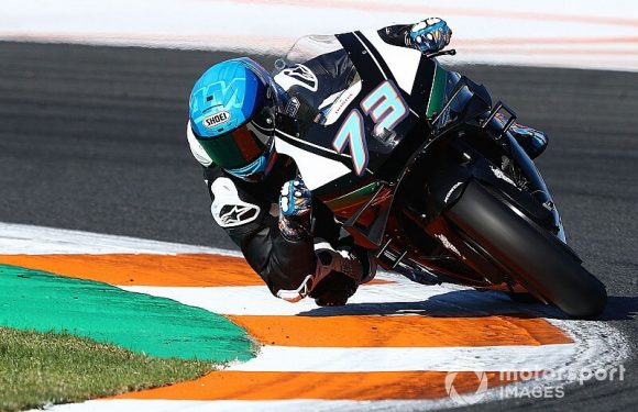 Valencia MotoGP test: Day 1 in pictures