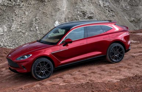 The Aston Martin DBX Could Fit a V-12 Engine